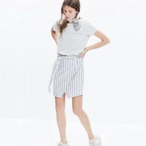 Madewell Portside Wrap Skirt